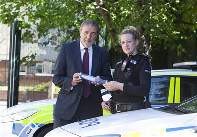 Knife crime PCC with Sgt Heather Sutton