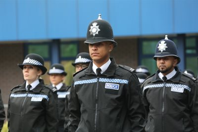 Picture of police officers recruitment cohort