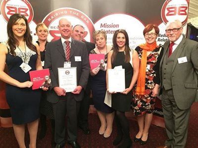 Nottinghamshire recognised at national Best Bar None Awards
