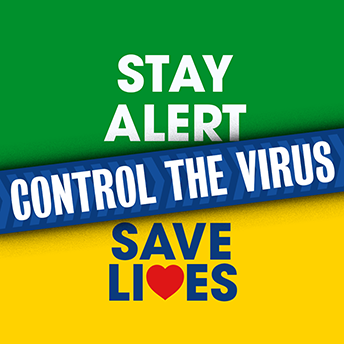 Stay Alert Control the Virus